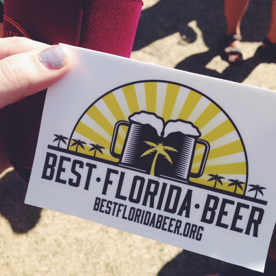 Best FLorida Beer Sticker