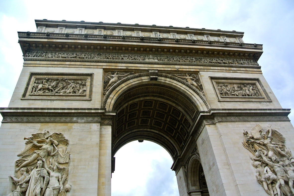 Arc de Triomphe - Paris, France. Paris in Two Days via Smiletheresgin.com