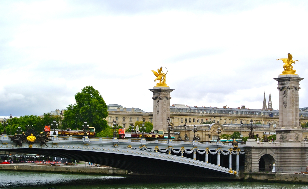 Pont Alexandre III - Paris, France. Two Days in Paris via Smiletheresgin.com