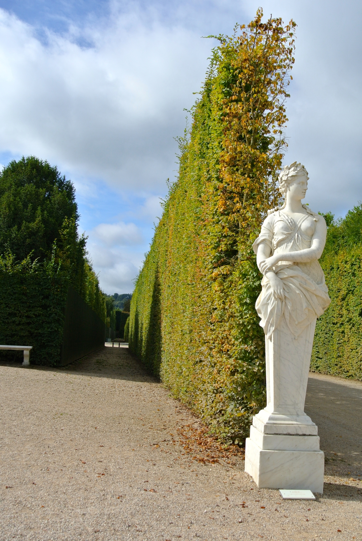 Versailles Gardens - Paris, France. Two Days in Paris via Smile There's Gin