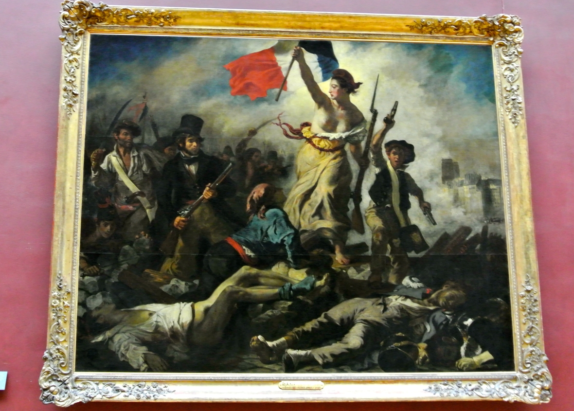Liberty Leading The People - The Louvre - Paris France