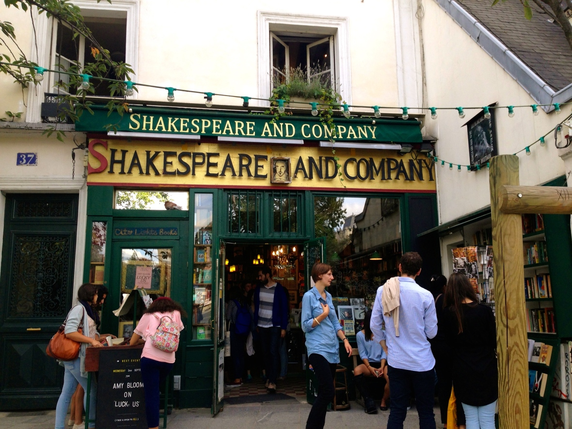 Shakespeare and Company Book Store - Paris, France
