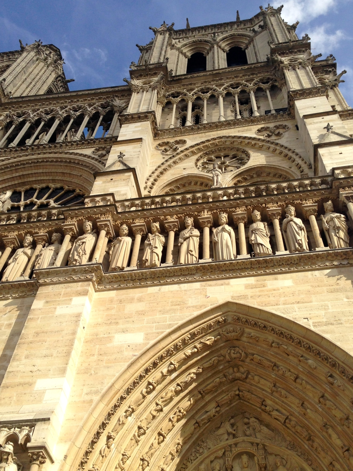 Notre Dame - Paris, France. Two Days in Paris via Smile There's Gin
