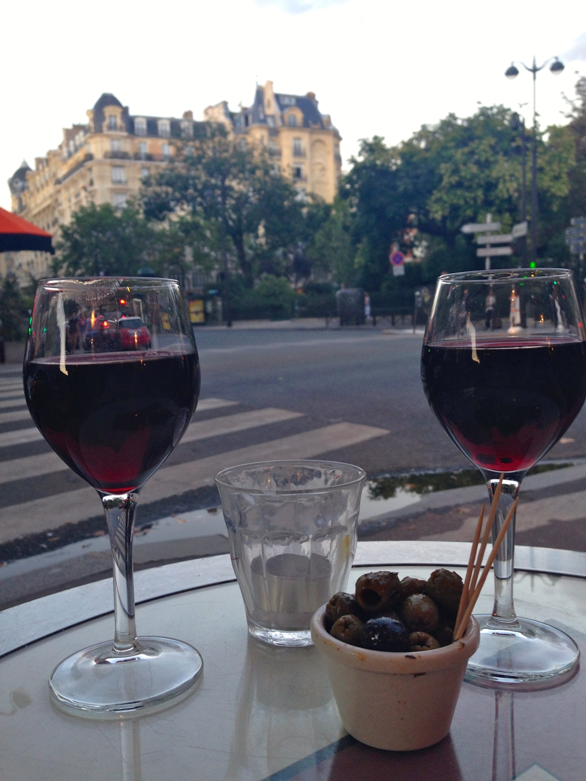 Parisian Cafe - Paris France