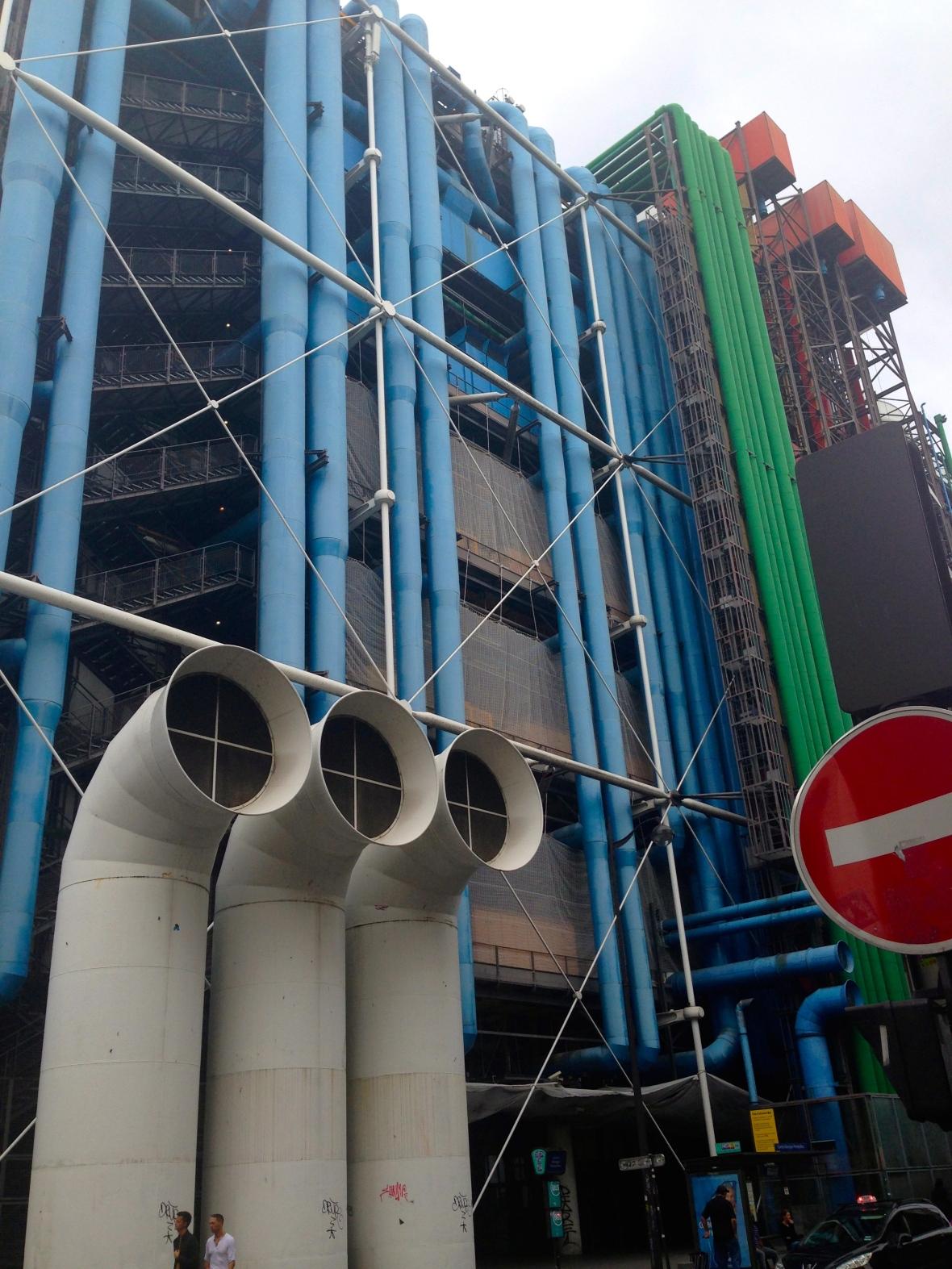 The Centre Pompidou Paris, France