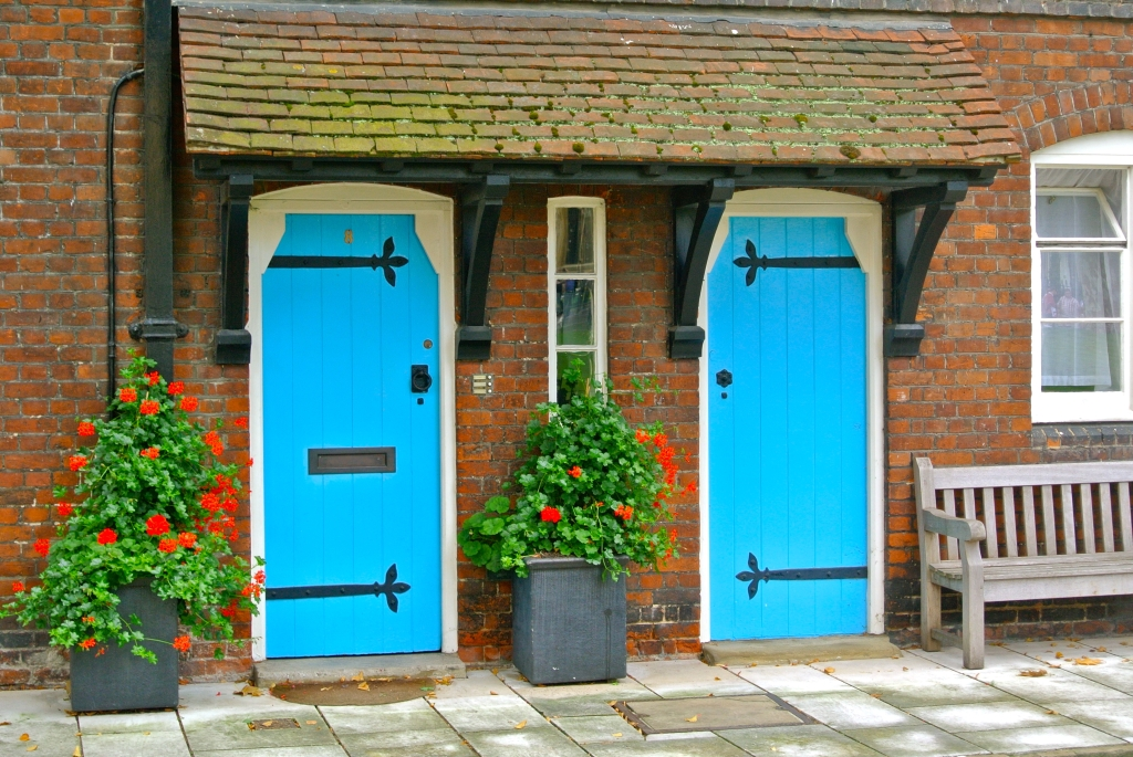 Tower of London - Blue Doors