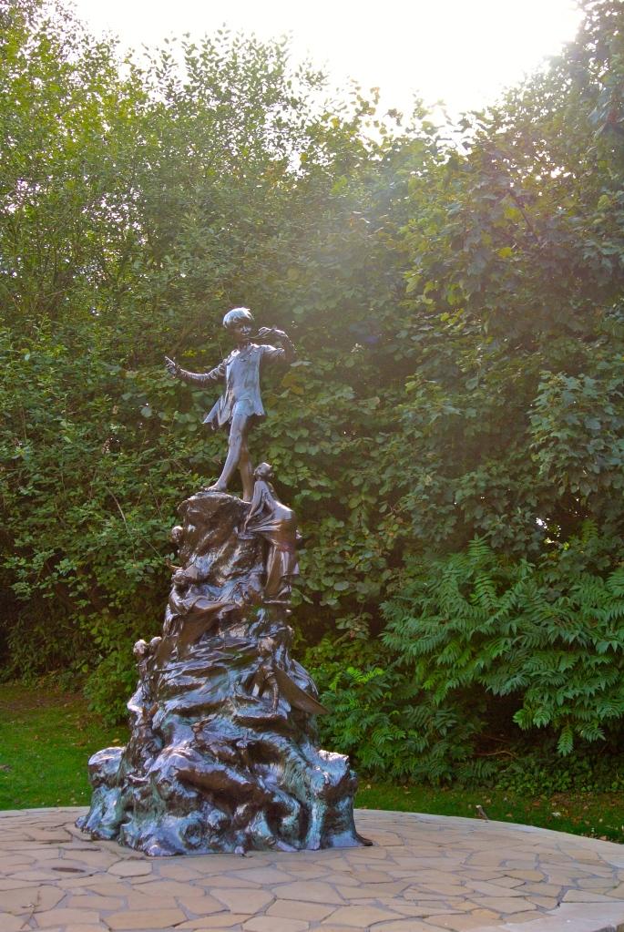 Peter Pan Statue Kensington Gardens London