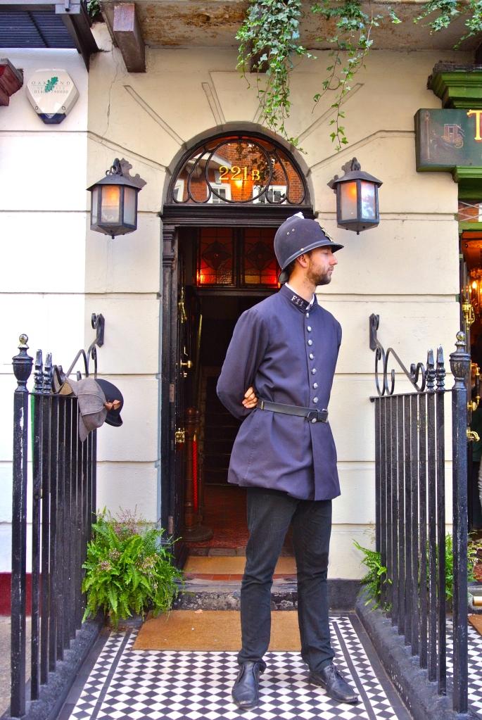 Sherlock Holmes Museum Entrance 221 B Baker Street