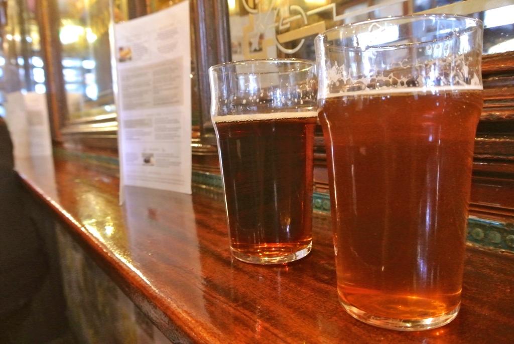 Pints in London Bar