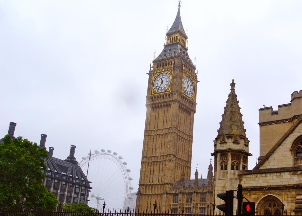 Big Ben Parliment London Eye