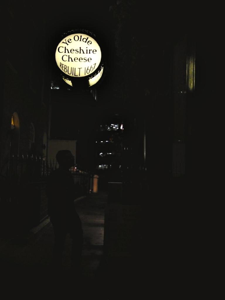 Olde Ye CHeshire CHeese London