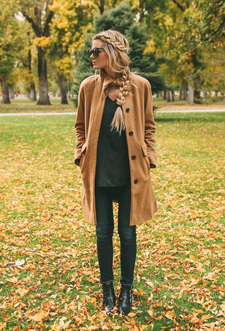 January Inspiration - Camel Coat