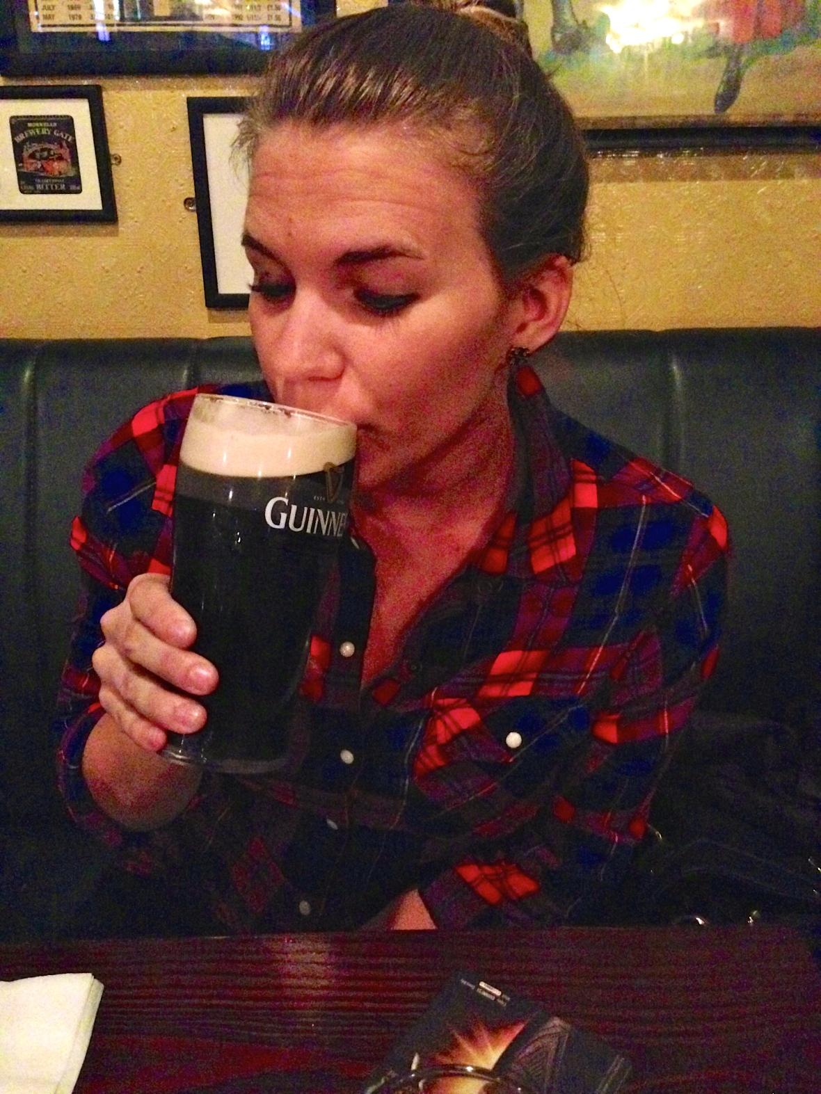 Dublin - first Guinness