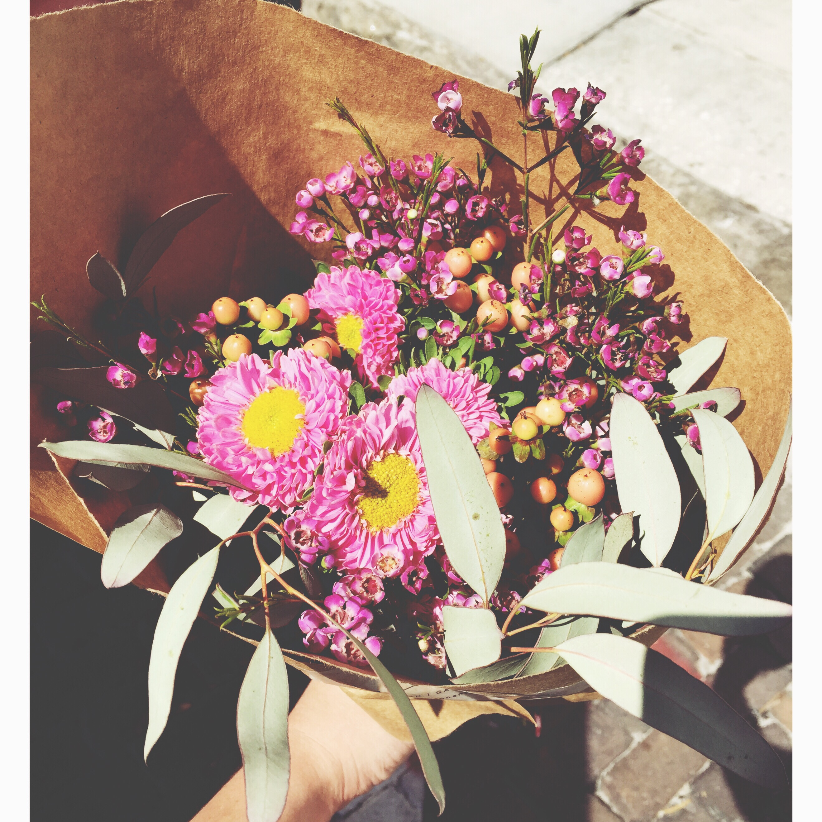 Flowers from L. Easton on Smile There's Gin