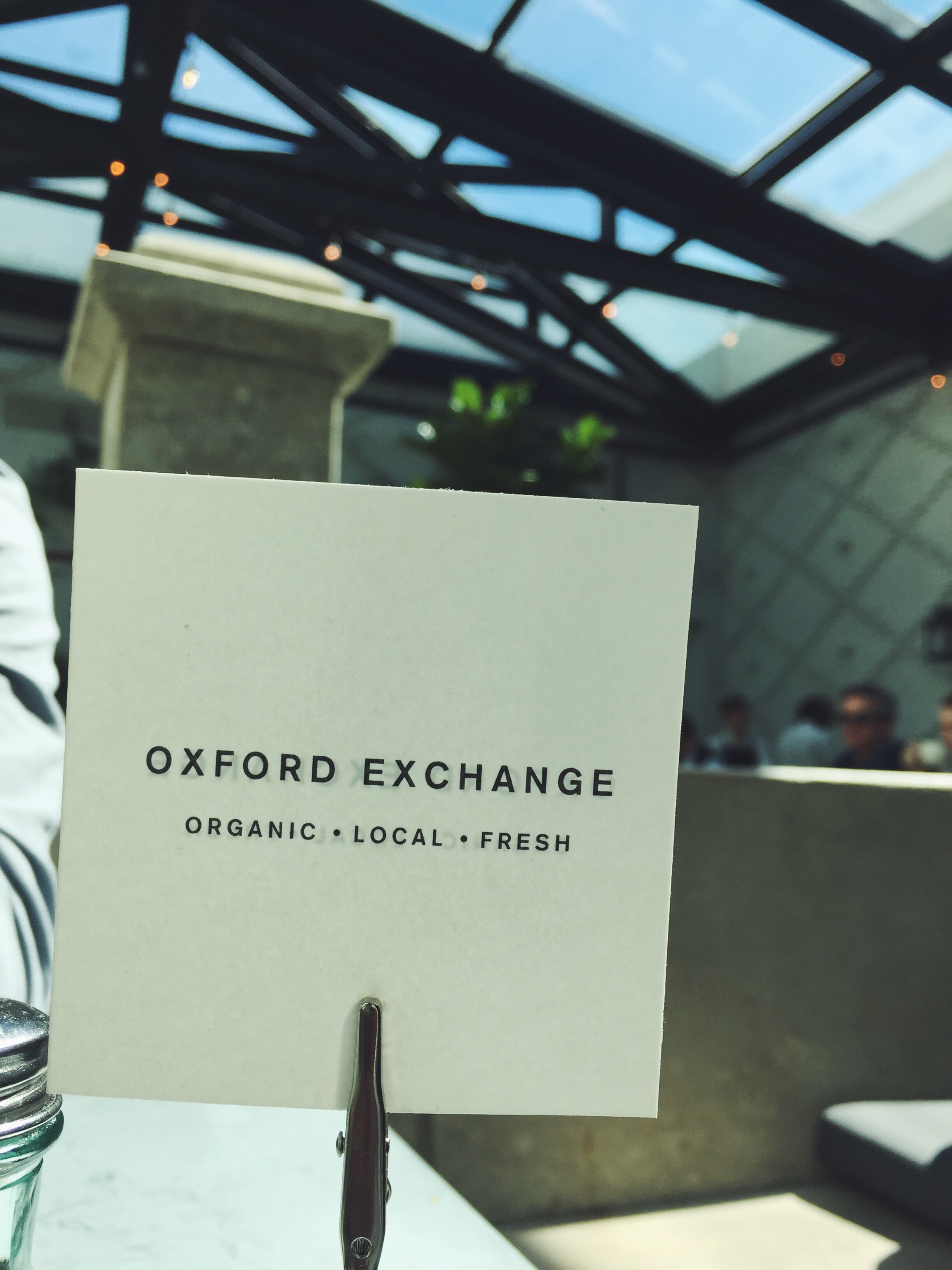 Oxford Exchange Table on Smile There's Gin