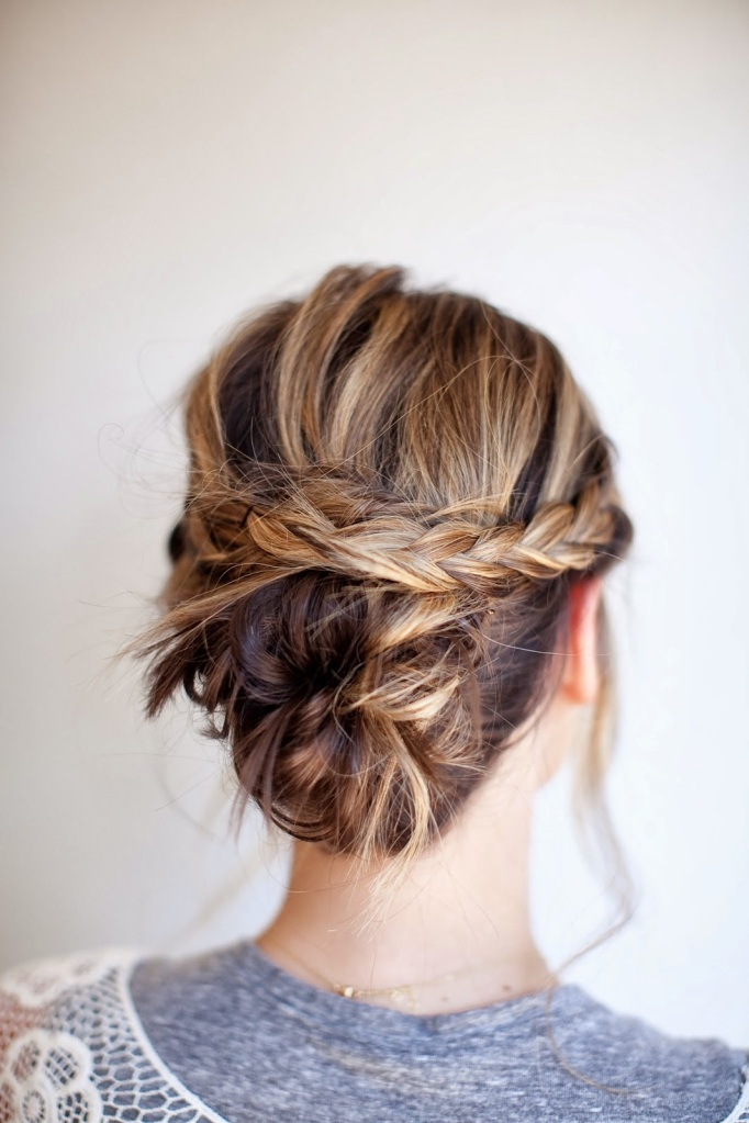 updo for Spring