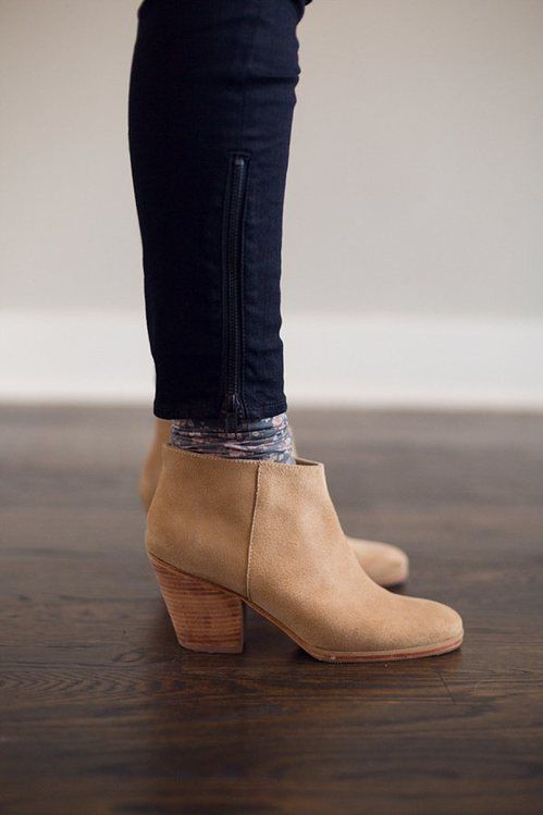Light Caramel colored booties